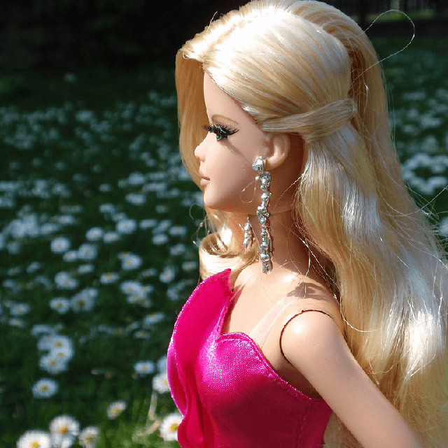 Barbie The Look Pink Gown Barbie Doll BCP86 4