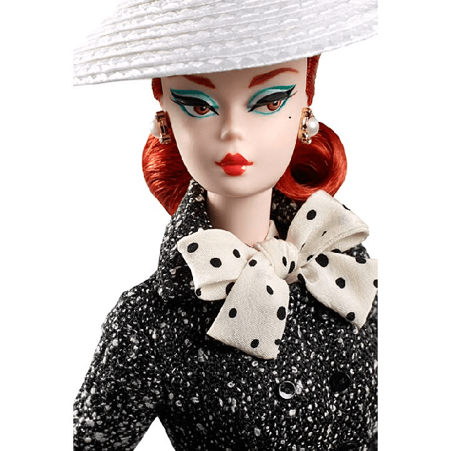 Black and White Tweed Suit Barbie Doll DWF54 1