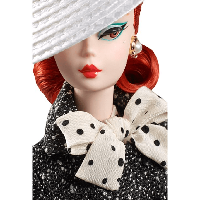 Black and White Tweed Suit Barbie Doll DWF54 2