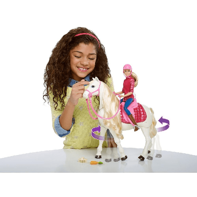 Barbie Dreamhorse Doll And Horse FRV36 2