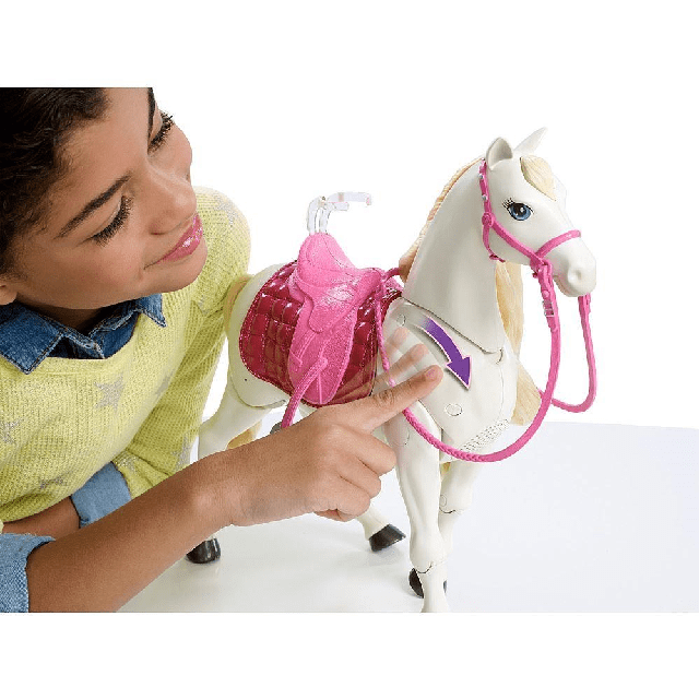 Barbie Dreamhorse Doll And Horse FRV36 4