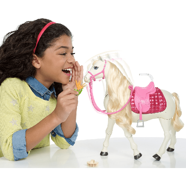 Barbie Dreamhorse Doll And Horse FRV36 5
