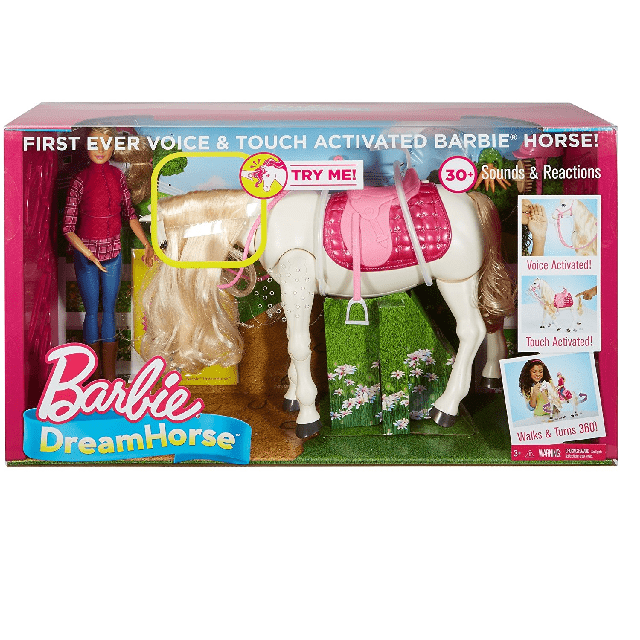Barbie Dreamhorse Doll And Horse FRV36 6