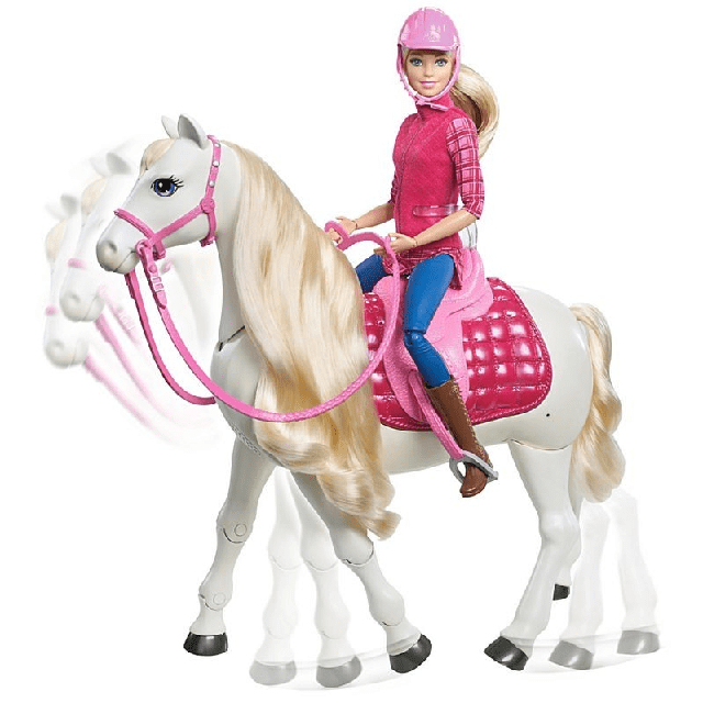 Barbie Dreamhorse Doll And Horse FRV36