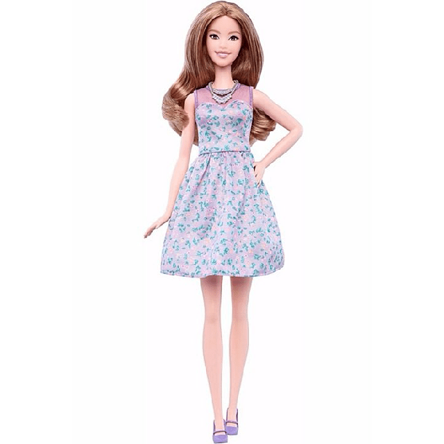 Barbie Fashionistas Doll 53 – Lovely in Lilac – Tall DVX75