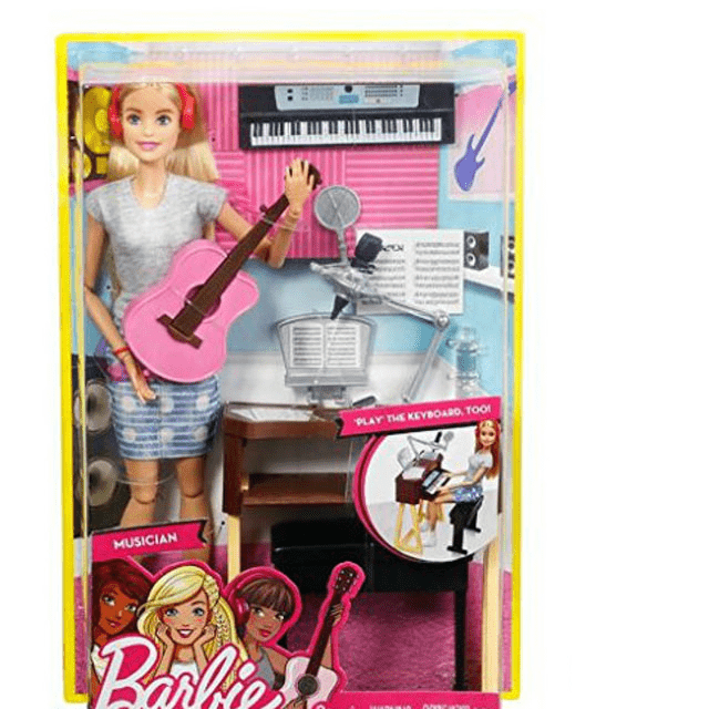 Barbie Girls Music Blonde Activity Playset FCP73 2