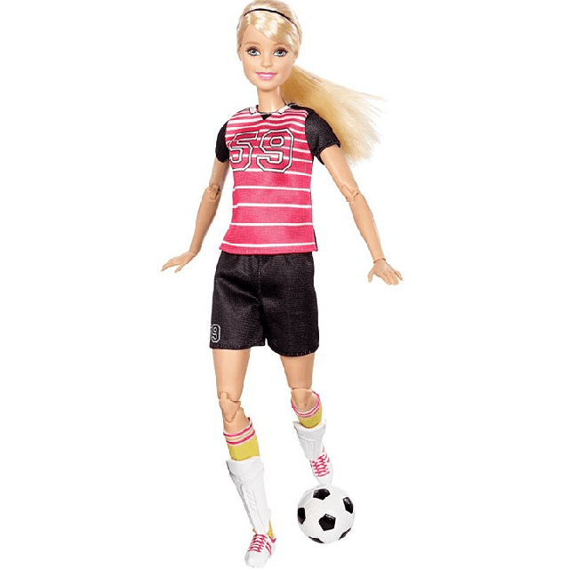 Barbie Made To Move Soccer Player DVF69