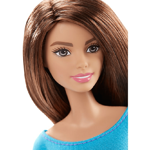 Barbie Made to Move Barbie Doll, Blue Top DJY08 3