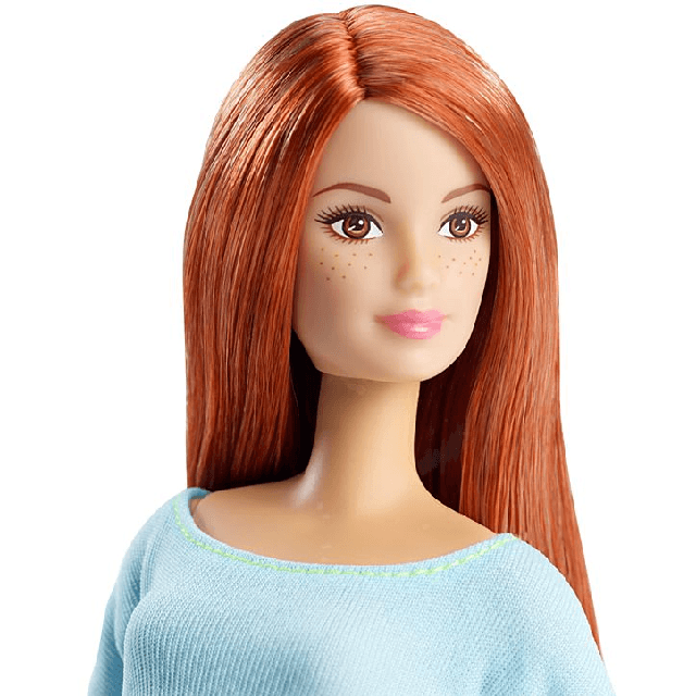 Barbie Made to Move Barbie Doll, Light Top DPP74 3