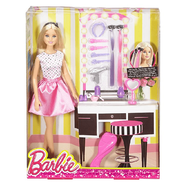 Barbie Style Your Way Doll & Playset DJP92 3