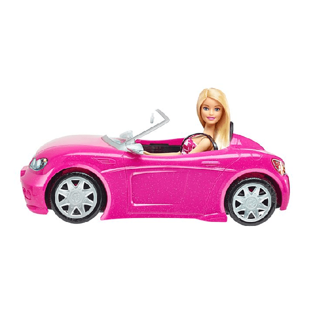 Barbie Doll and Glam Convertible DJR55 1
