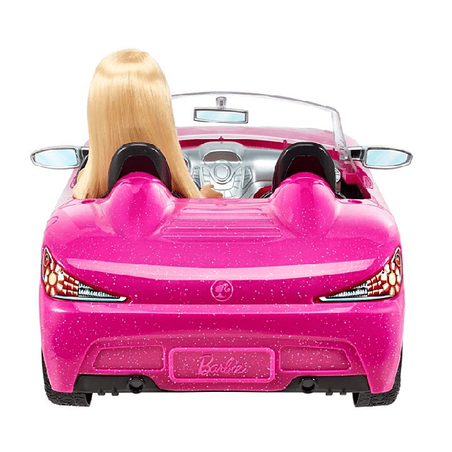 Barbie Doll and Glam Convertible DJR55 3
