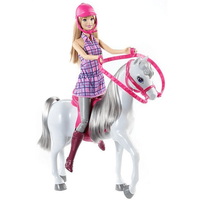 Barbie Doll and Horse DHB68 1