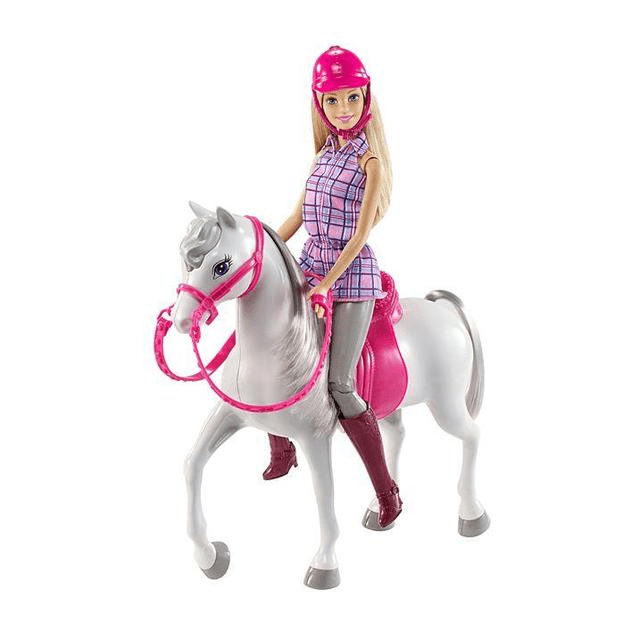 Barbie Doll and Horse DHB68 2