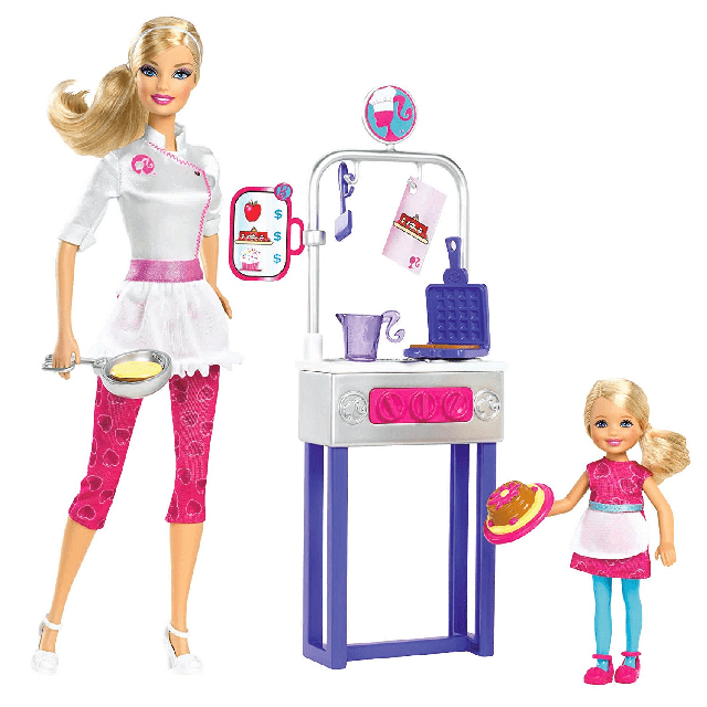 Barbie I Can Be Pancake Chef Playset X0099