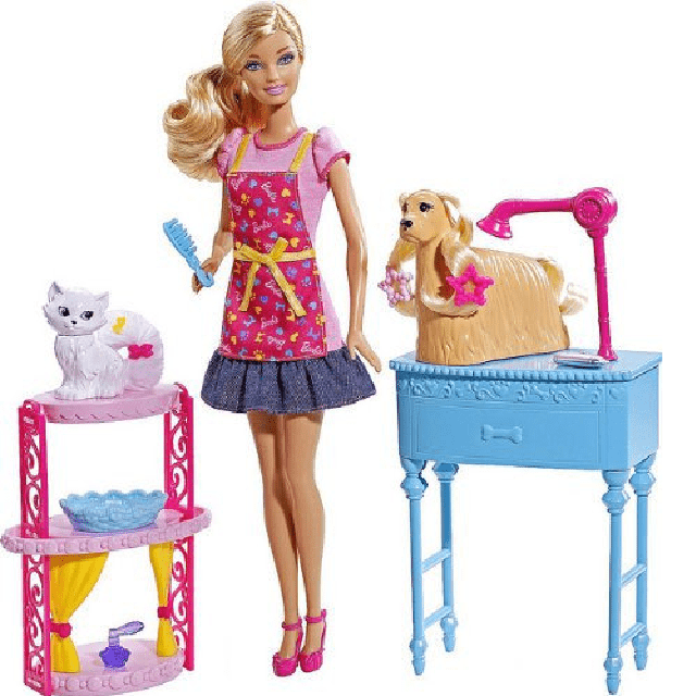 Barbie I can be a pet stylist X4822