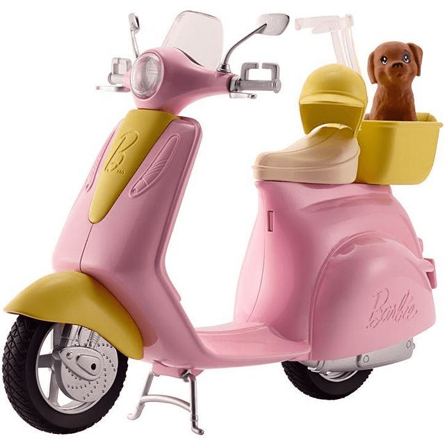Barbie Scooter & Puppy DVX56