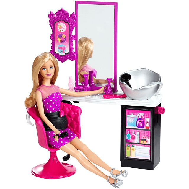 Barbie Style Salon CMM55 1