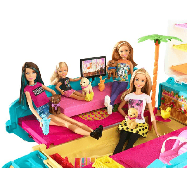 Barbie Ultimate Puppy Mobile DLY33 2