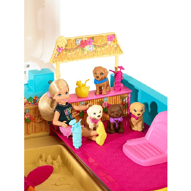 Barbie Ultimate Puppy Mobile DLY33 3