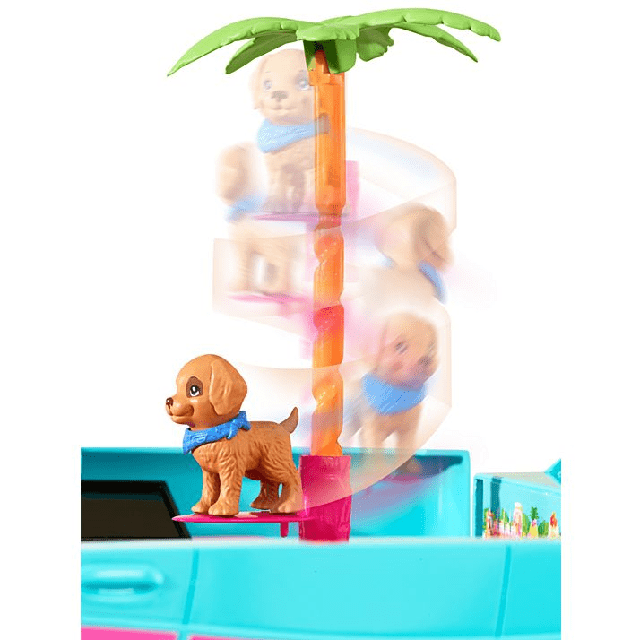 Barbie Ultimate Puppy Mobile DLY33 4