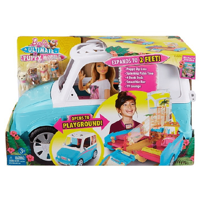 Barbie Ultimate Puppy Mobile DLY33 5