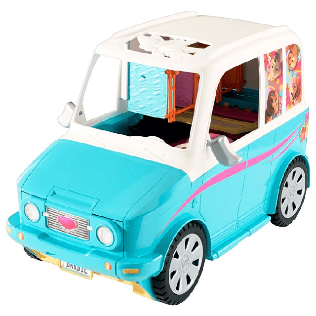Barbie Ultimate Puppy Mobile DLY33 6