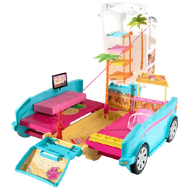 Barbie Ultimate Puppy Mobile DLY33