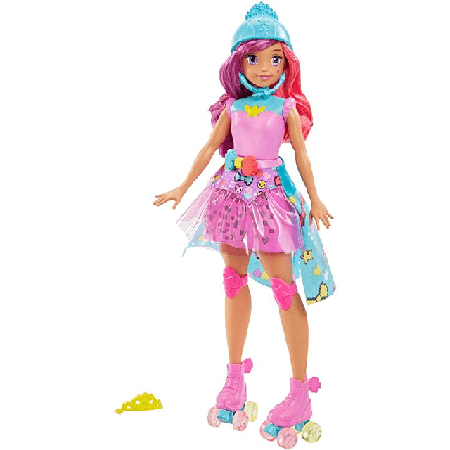 Barbie Video Game Hero Match Game Princess DTW00 1