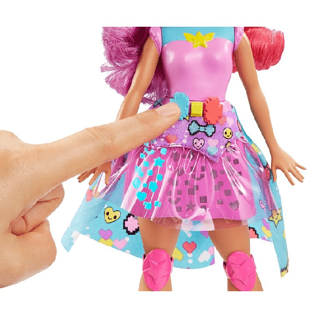 Barbie Video Game Hero Match Game Princess DTW00 2