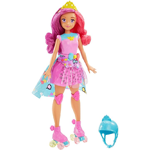 Barbie Video Game Hero Match Game Princess DTW00