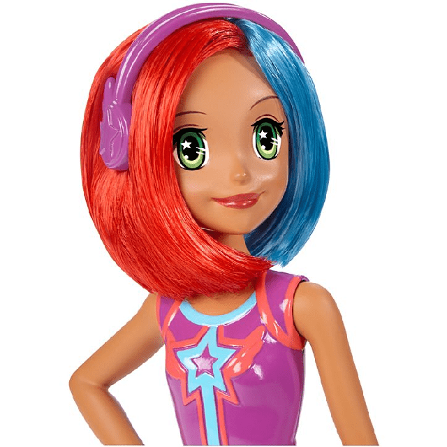 Barbie Video Game Hero Multi-Color Hair DTW05 1