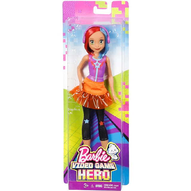 Barbie Video Game Hero Multi-Color Hair DTW05 4