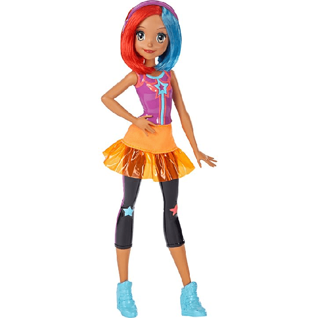 Barbie Video Game Hero Multi-Color Hair DTW05