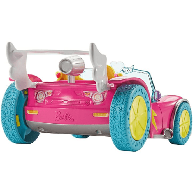 Barbie Video Game Hero Vehicle and Figure Play Set DTW18 4