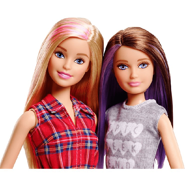 Barbie and Skipper Dolls 2 Pack DGX42 1