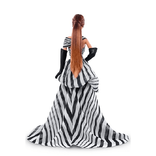 Black and White Collection Chiffon Ball Gown Barbie 4