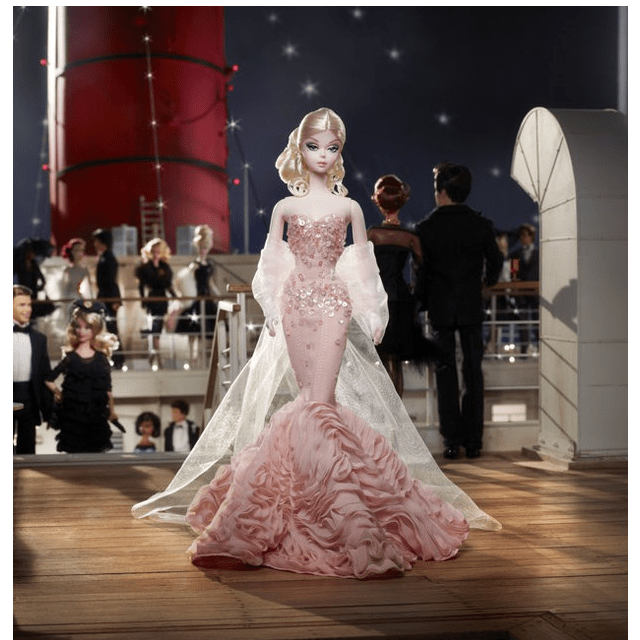 Mermaid Gown Barbie Silkstone Х8254 1
