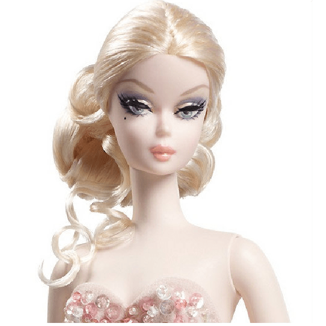 Mermaid Gown Barbie Silkstone Х8254 2