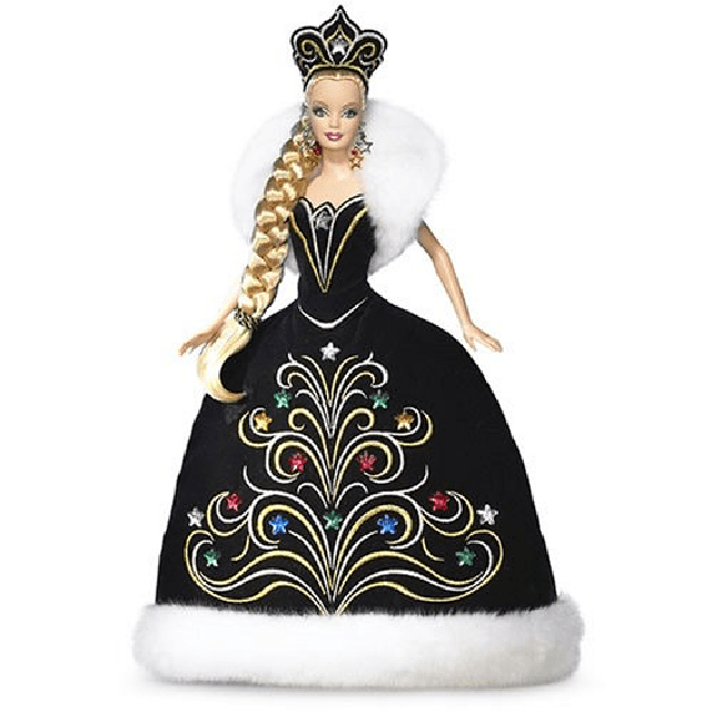 2006 Holiday Barbie Doll by Bob Mackie J0949