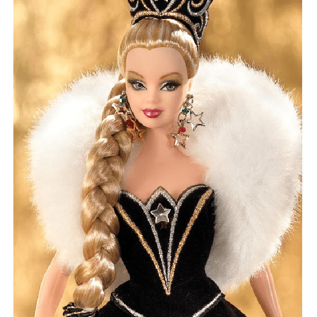 2006 Holiday Barbie Doll by Bob Mackie J0949 3