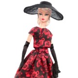 Коллекционная кукла Барби Силкстоун / Barbie Elegant Rose Cocktail Dress Doll