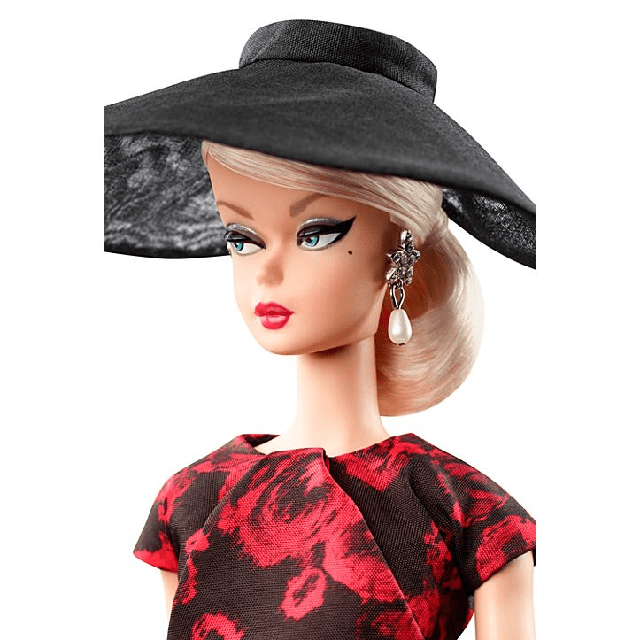 Barbie Elegant Rose Cocktail Dress Silkstone Силкстоун FJH77 2