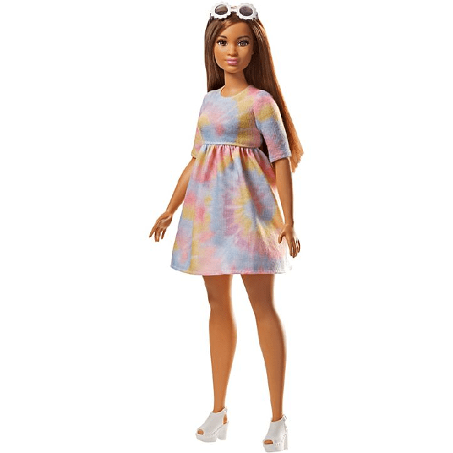 Barbie Fashionistas 77 To Tie Dye For Curvy FJF42